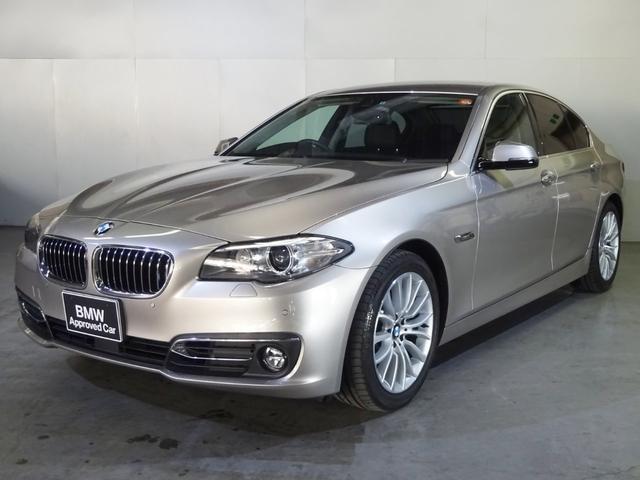 BMW 523i Luxury ブラックレザー