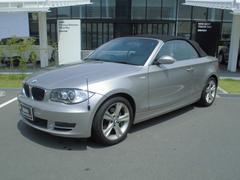 BMW120i カブリオレ ベージュレザー