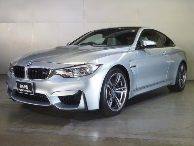 BMW M4クーペ シルバーレザー ワンオーナー