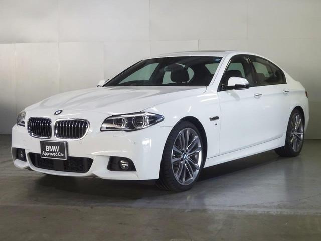 BMW 528iMスポーツ黒革サンルーフACC新品20AWタイヤ