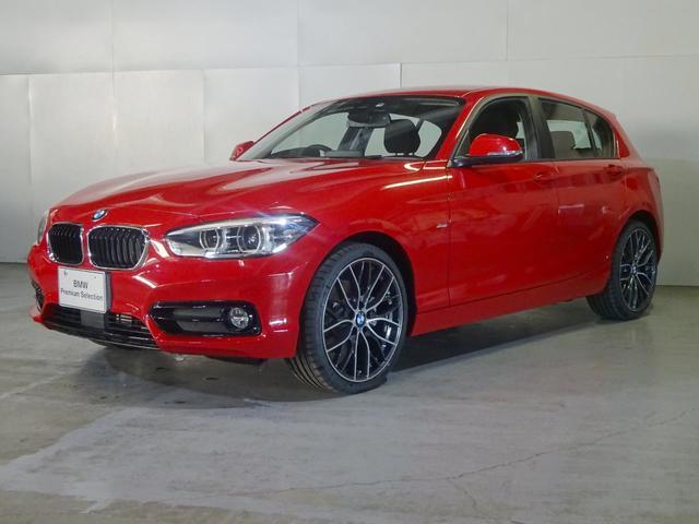 BMW 118d スポーツ 純OP19インチ パーキングサポ
