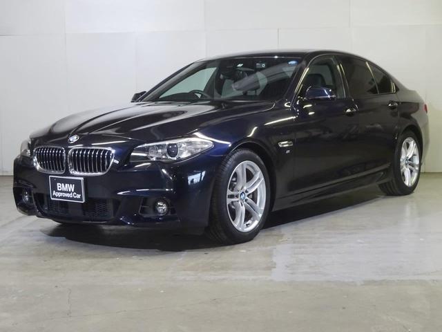 BMW 523i Mスポーツ サンルーフ 黒革 2年保証