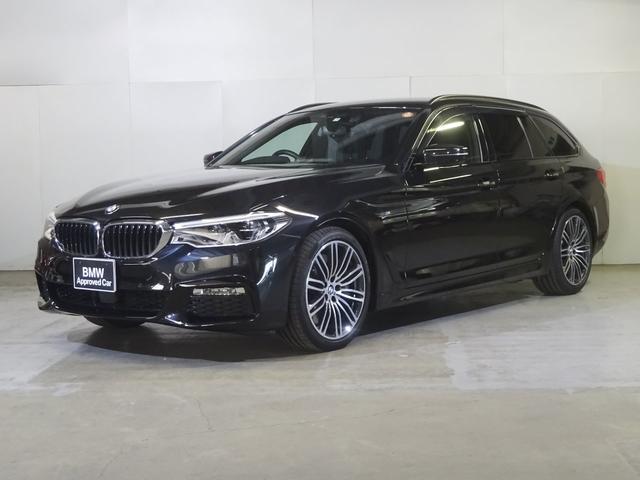 BMW 540i xDriveツーリング Mスポーツ 4WD黒レザー