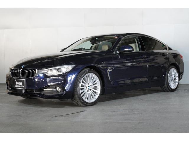 BMW 420iグランクーペ ラグジュアリーオイスターレザーACC