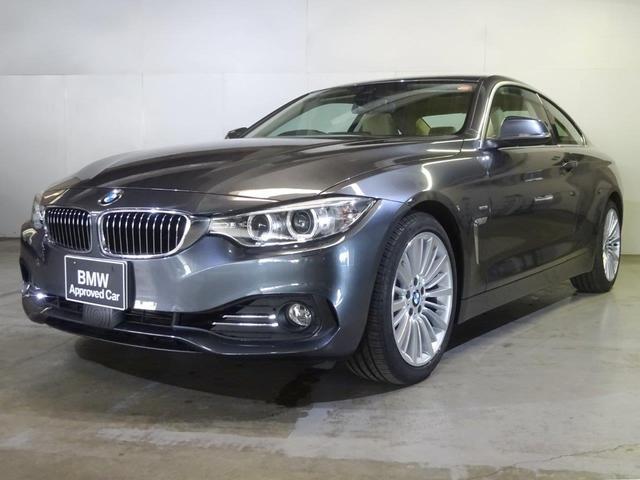 BMW 420iクーペ ラグジュアリーベージュ革ACC