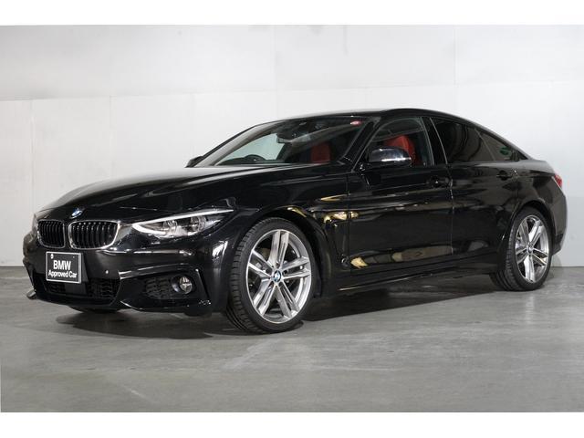 BMW 420iグランクーペ Mスポーツ赤レザー
