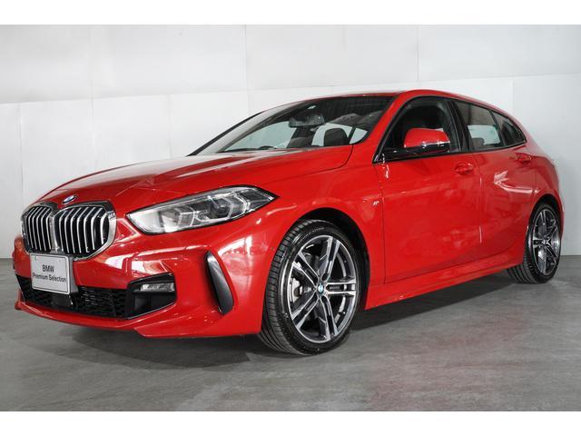BMW 1シリーズ 118d Mスポーツ エディションジョイ+ ナビゲーション・パッケージ コンフォート・パッケージ ACC 18インチ・アロイホイール ストレージパッケージ 衝突軽減ブレーキ 車線逸脱警告 最長4年保証 全国保証 弊社社有車