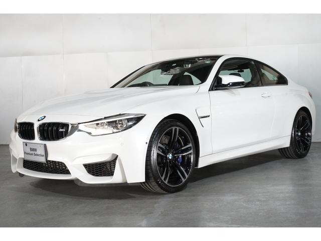 BMW M4クーペ DCT ブラック・メリノ・レザー 19インチアロイホイール ミネラルホワイト スマートキー 全国保証 最長4年保証