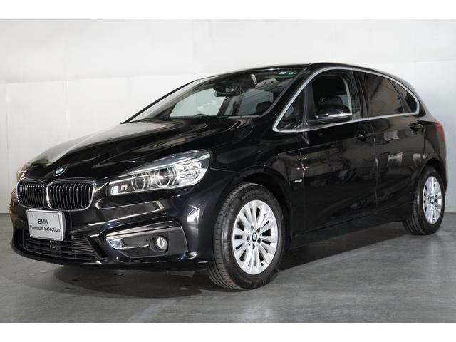 BMW 218dアクティブツアラー ラグジュアリー ブラック・レザーシート パーキング・サポート・パッケージ バックセンサー バックカメラ スマートキー 16インチ・アロイ・ホイール 最長3年保証 全国保証