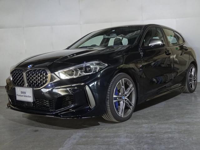 BMW 1シリーズ M135i xDrive 弊社社有車 ブラックレザー デビューパッケージ 衝突軽減 全国保証 最長4年保証