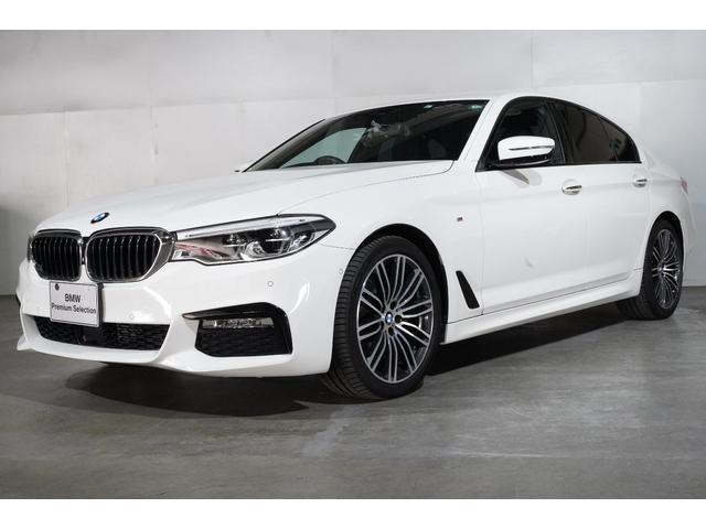 BMW 523d Mスポーツ BMW認定中古車 2年保証 タッチ式ナビゲーション 前後バンパーセンサー バックカメラ 19インチ・アロイホイール 衝突軽減 車線逸脱警告 ポプラフレー・ウッド・トリム スマートキー 全国保証