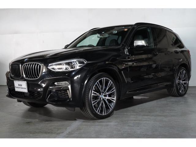 BMW X3 M40d BMW認定中古車 ブラックレザーシート シートヒーター セレクトパッケージ サンルーフ 21インチアロイ・ホイール リアシート・アジャスト ポプラウッド・トリム スマートキー 2年保証