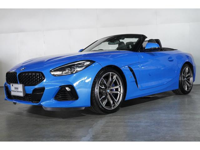 BMW Z4 M40i BMW認定中古車 ブラック・レザー シートヒーター アルミ・インテリア・トリム ハーマンカードン・スピーカー 19インチ・アロイホイール 衝突軽減 車線逸脱警告 スマートキー 2年保証 全国保証