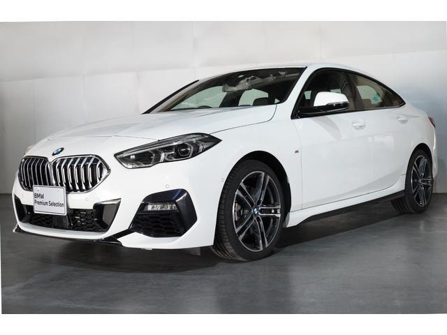 BMW 218iグランクーペ Mスポーツハイラインパッケージ 黒革ヒーターパワーシート パノラマサンルーフ アクティブクルーズ HIFIスピーカー 18AW  ナビパッケージ ハイラインパッケージ 当社デモ車