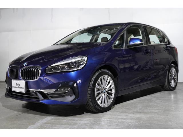 BMW 218dアクティブツアラー ラグジュアリー セーフティーパッケージ コンフォートパッケージ パーキングサポートパッケージ オースター革ヒーター パワーシート ヘッドUPディスプレイ アクティブクルーズ 電動リアハッチ 当社デモ車