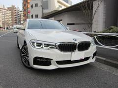 BMW540i Mスポーツ 1オーナー ディーラー車 新車保証継承