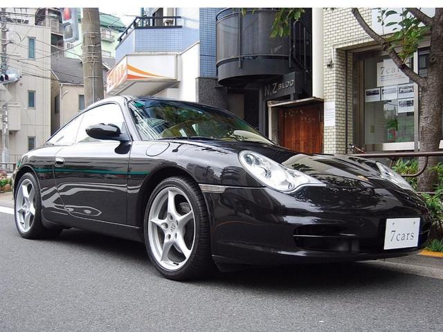 ポルシェ 911タルガ ティプトロニックS ベージュ革 1オーナー