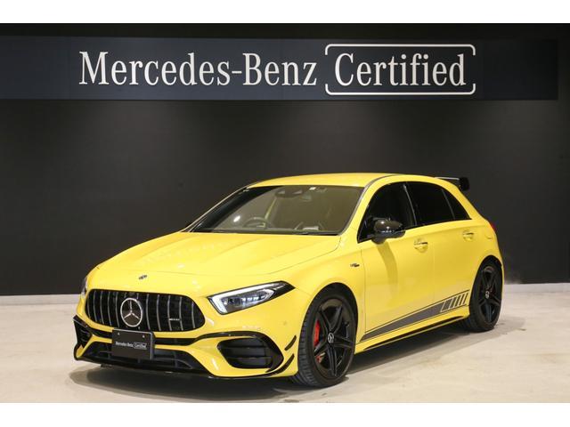 A45 S 4マチック+ エディション1 国内限定400台/MBUX/レーダーセーフティパッケージ/AMGナイトパッケージ/360°カメラ/ヘッドアップディスプレイ/シートヒーター/シートベンチレーター/AMGパフォーマンスステアリング