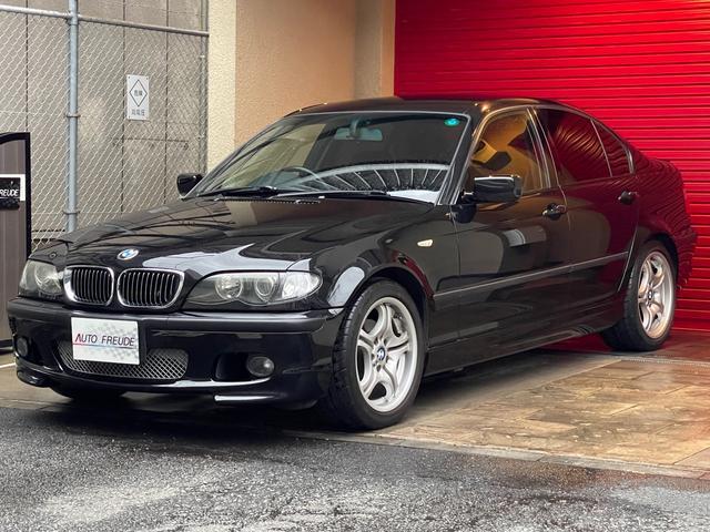 BMW 320i Mスポーツパッケージ 後期型 電波式キーレス インダッシュサイバーナビ 純正キセノン フィルム スポーツサスペンション 純正17インチ Mエアロ
