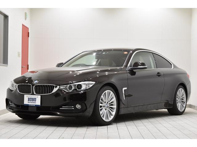 BMW 420iクーペ ラグジュアリー ACC LKA 純正ナビ
