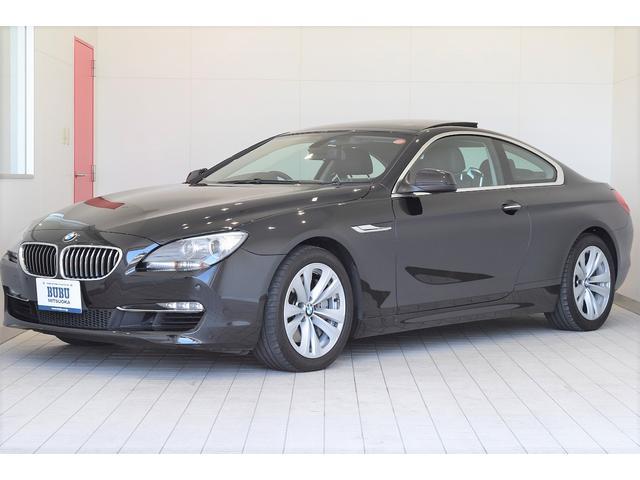 BMW 640iクーペ 黒革シート サンルーフ 正規ディーラー車