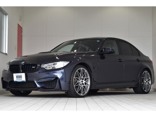 BMW M3 30ヤーレM3 日本30台限定車 20インチアルミ 7速DCT コンペティションパッケージ 450PS Mスポーツエキゾーストシステム カーボンファイバートリム 専用スカッフプレート フルレザーメリノインテリア