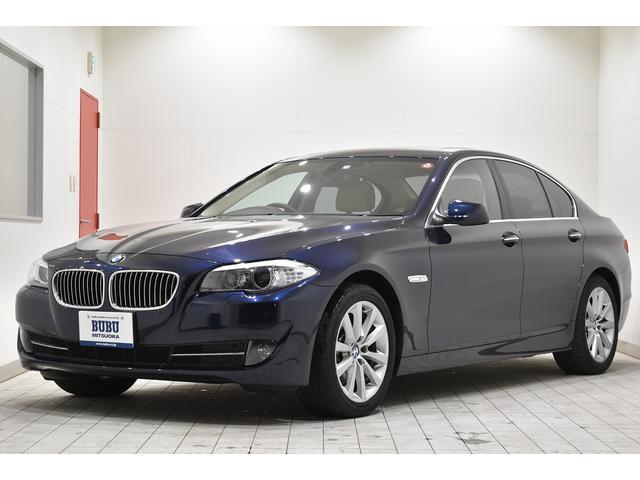 BMW 528i ワンオーナー 直列6気筒モデル 258ps サンルーフ 純正HDDナビ Bカメラ ETC キーレスエントリー キセノンH/L 純正17インチアルミ レザーシート 正規D車