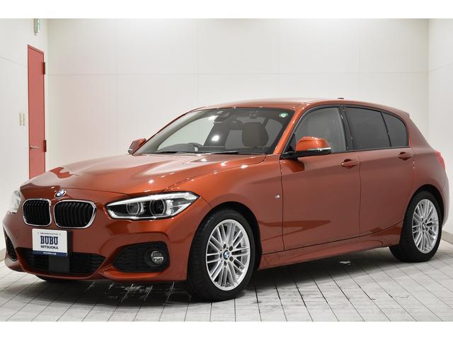 BMW 118i Mスポーツ ワンオーナー 新車保証継承 アダプティブクルーズコントロール 衝突被害軽減・防止ブレーキ レーンキープアシスト コンフォートPKG パーキングアシストPKG オイスターレザー ドラレコ ナビ Bカメ