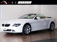 BMW650iカブリオレ 右H 1オ−ナ− 19AW 正規D記録有