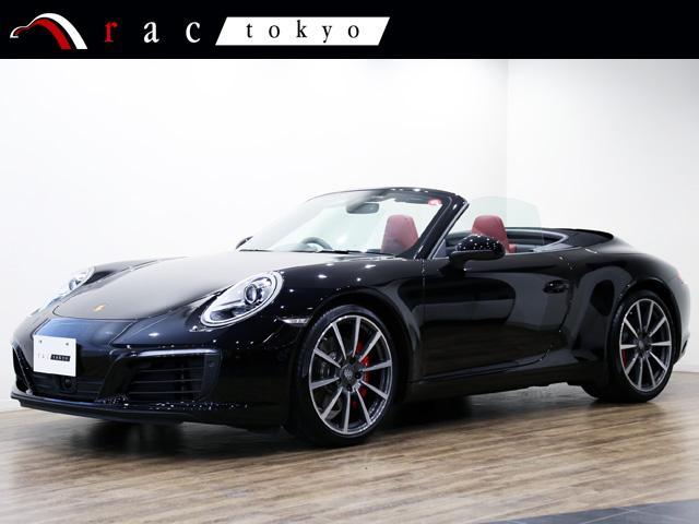 ポルシェ 911カレラS カブリオレ 右ハンドル 1オ-ナ- スポークロノパッケージ スポーツエグゾーストシステム ACC エントリー&ドライブ GTスポーツステアリング 20インチアルミ ACC エントリー&ドライブ 電動格納ミラー