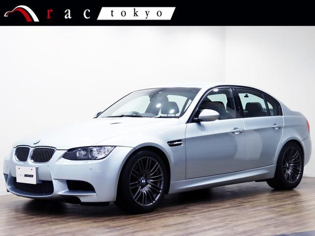 BMW M3 M3 セダン/4ドア/右ハンドル/1オーナー/後期idrive/LCI/Mドライブパッケージ/ディーラー記録簿14枚/シルバーストーン/E90 V8/オリジナル/1オーナー/タイヤ新品/コンフォートアクセス