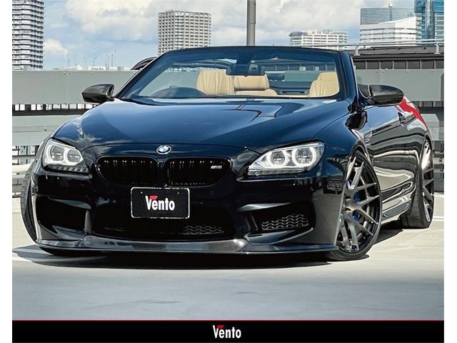 BMW M6 カブリオレ フルカーボンインテリア&エクステリア BCフォージド21inch 車高調 ブラックグリル