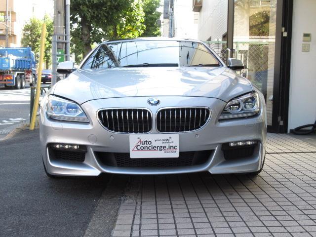 BMW 6シリーズ 640iグランクーペ M-SPORT ディーラー車 記録簿