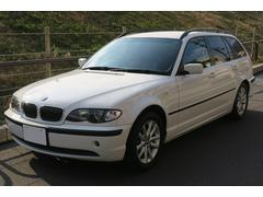 BMW318iツーリング 本革シート シートヒーター ウッドパネル