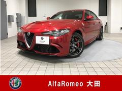 アルファロメオ ジュリアクワドリ・フォリオ 弊社デモカー 新車保証継承