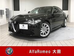 アルファロメオ ジュリアスーパー 弊社デモカー 新車保証継承
