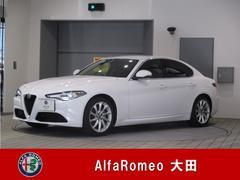 アルファロメオ ジュリアスーパー 後輪駆動 右ハンドル 弊社デモカー 新車保証継承