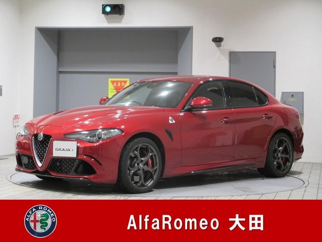 アルファロメオ クアドリフォリオ 当社管理ユーザー車両 新車保証継承