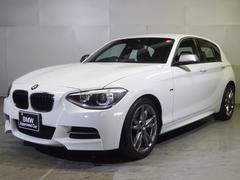 BMWM135i認定中古車直列6気筒ターボ 初期物 黒革 Bカメラ