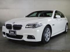 BMW523d Mスポーツ ブラックレザー サンルーフ 全国保証