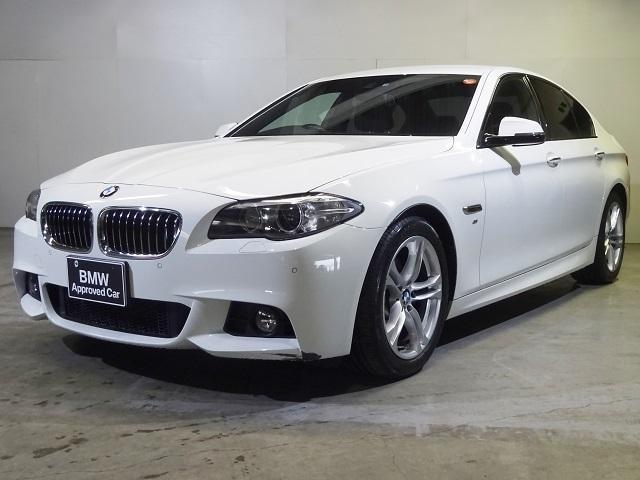 BMW 528i Mスポーツ ブラックレザー スポーツAT 全国保証
