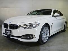 BMW420iグランクーペ ラグジュアリー サンルーフ 白革