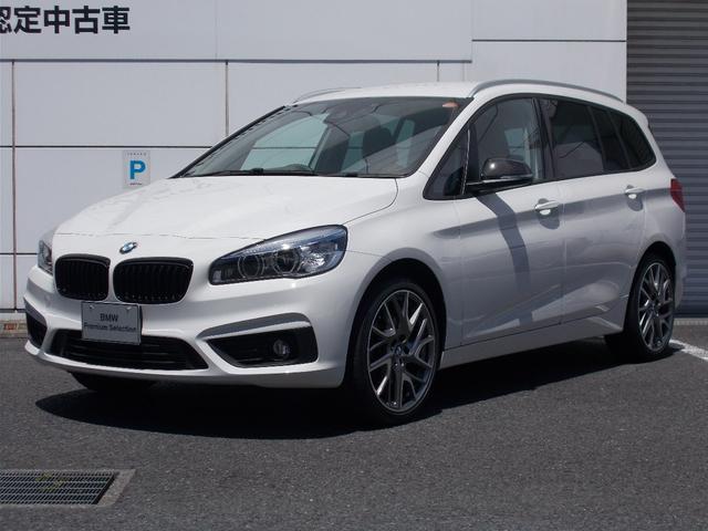 BMW 218dグランツアラー 19インチアルミ コンフォートP