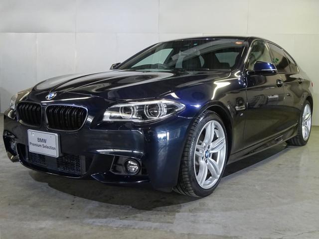 BMW 528i Mスポーツ 黒革 LEDヘッド