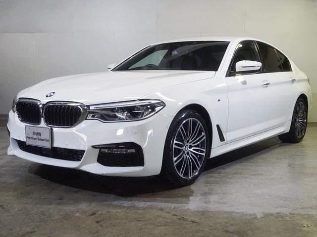 BMW 523d Mスポーツ 黒革 19インチ