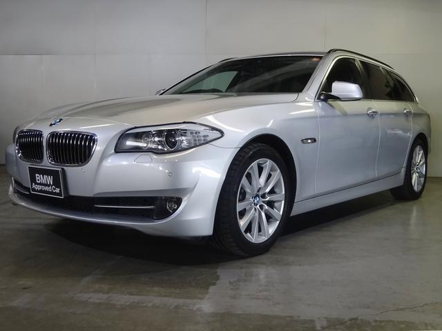 BMW 523iツーリング ハイライン黒革 認定中古車 全国保証