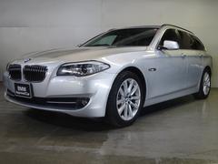 BMW523iツーリング ハイライン黒革 認定中古車 全国保証