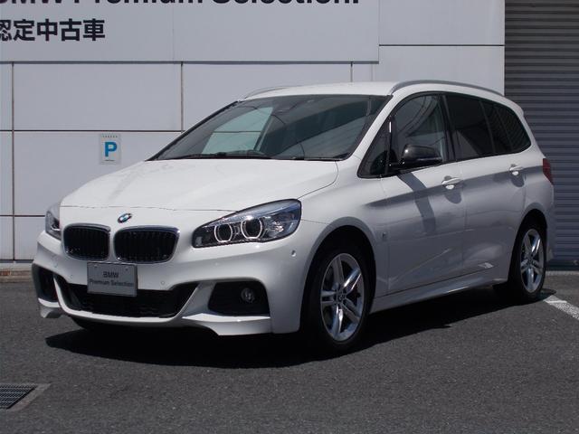 BMW 218dグランツアラーMsports認定中古車ルーフレール
