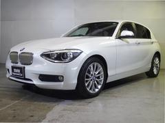 BMW116i ファッショニスタ 限定車 ベージュ革 リアカメラ