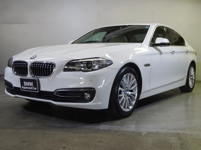 BMW 523iラグジュアリー サンルーフ ACC 歩行者検知機能